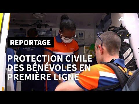 Coronavirus: la lutte bénévole de la Protection civile   AFP