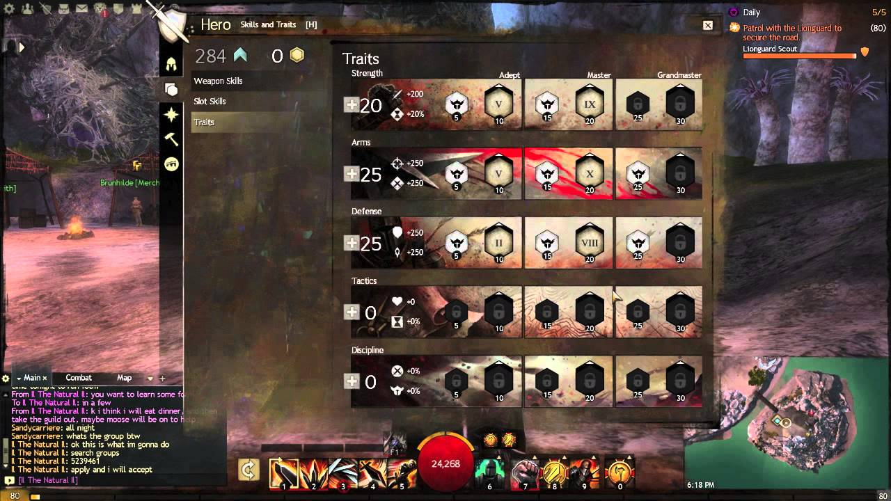 Guild Wars 2 | Stand Tall Warrior Build (Survival AND High Damage)