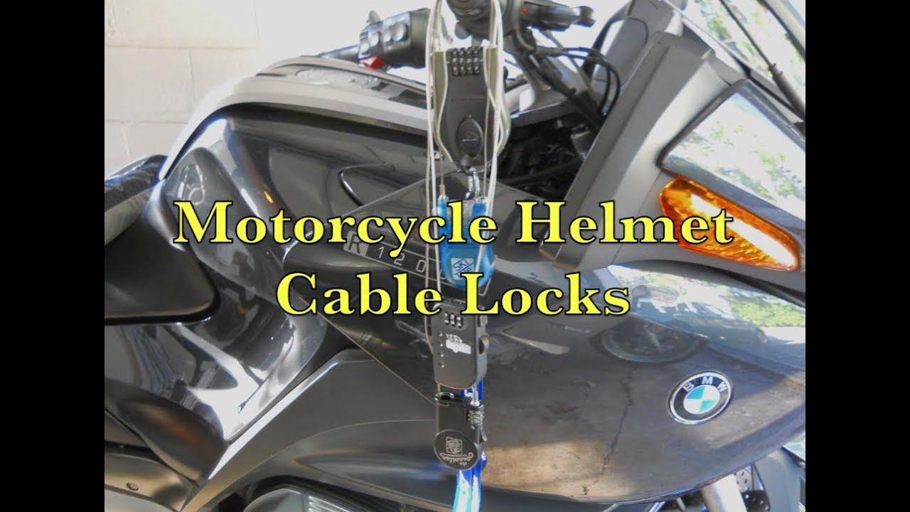 ski tote & kryptonite retractable helmet lock - motorcycle gear