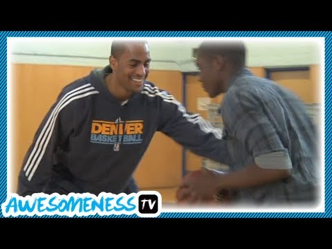 How to Steal a Basketball with NBA Pro Arron Afflalo - How To Be Awesome Ep. 12