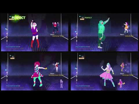 Just Dance 4 [Party Master] - Moves Like Jagger (Song Swap) [All Choices] - 5 Stars