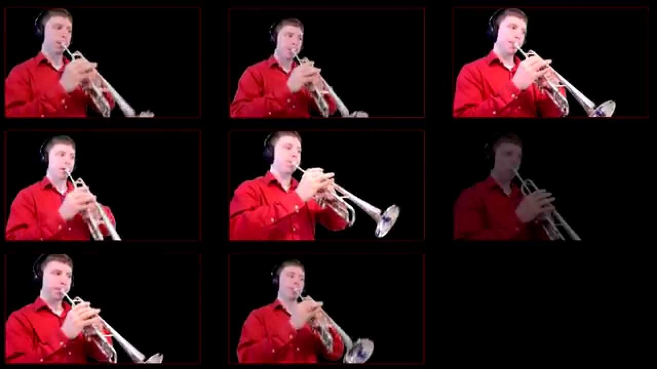 how to play new world symphony theme trumpet