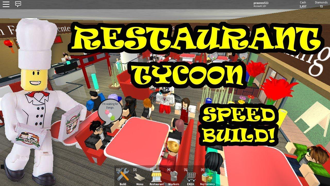 My Own Restaurant