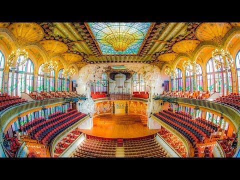 A Walking Tour of The Palau de la Música Catalana, Barcelona