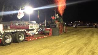 80HP Case Steam Tractor Pull Pinckneyville Illinois August 16th 2013