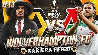 FIFA 20 | KARIERA WOLVES #13 - 1/8 Z LOKOMOTIVEM!