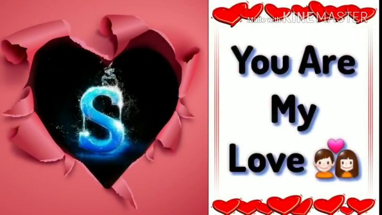 cute love shayari for s name lovely whatsapp status youtube