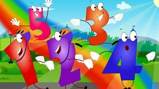 Five Little Numbers | Number Songs For Children | 123 Numbers | Learning Videos For Kids by Kids Tv