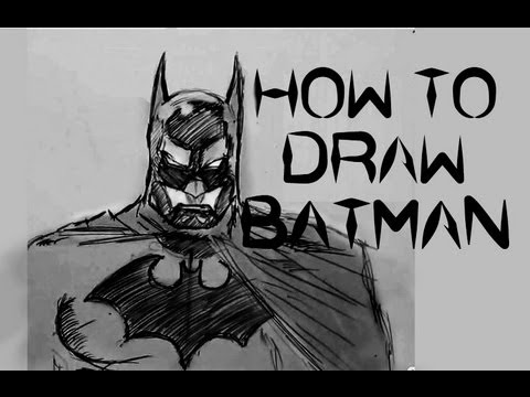 Ep 2 How To Draw Batman Face Part 1 Of 3 Youtube