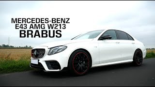 Mercedes-Benz E43 AMG W213 - BRABUS: wydech z klapami, pakiet stylistyczny, felgi