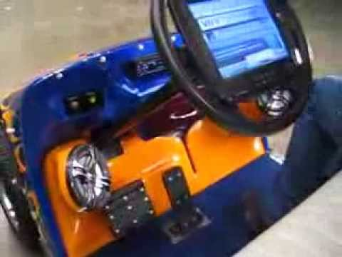 Michael Douglas Golf Cart Built by Cabe Sipes - YouTube on golf cart with lift, golf cart with air conditioning, golf cart with bar,