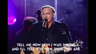 Neil Diamond - I'm On To You (Live 2005 with Lyrics)