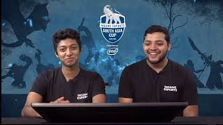 Live stream of IGE South Asia Cup Online 2019 - Group Stage (Day 3). Match between 3 cheers 4 sweet