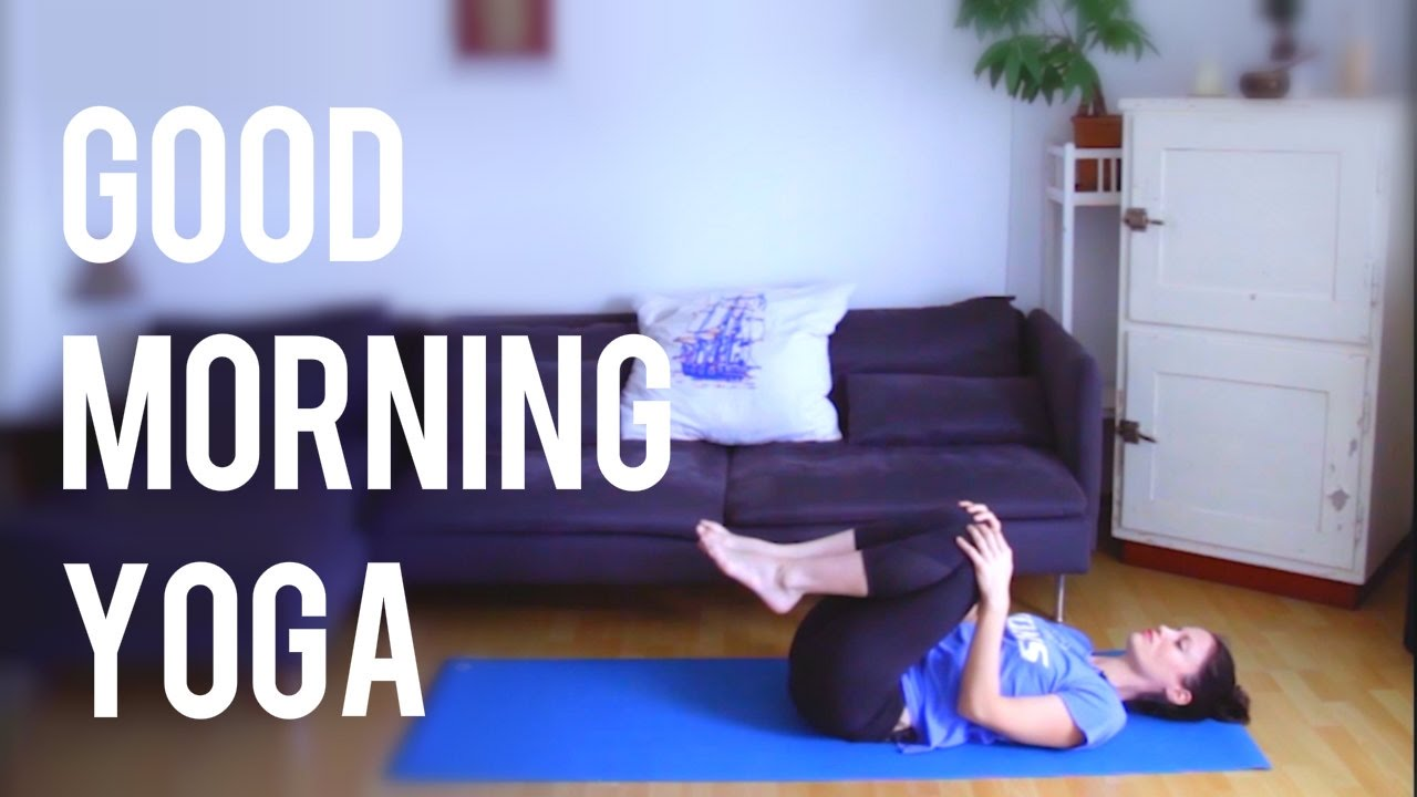 17 Min Morning Yoga Routine - Wake Up the Spine!