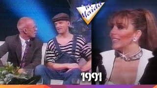 """Verónica Castro entrevista a """"Erasure"""" en La Movida - 1991"""