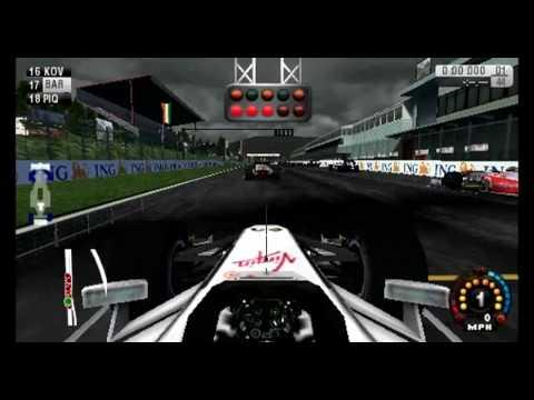F1 2009 psp Gameplay