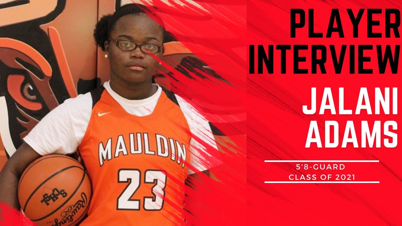 A1 Hoops Report Coach Allen interviews 2021 Jalani Adams
