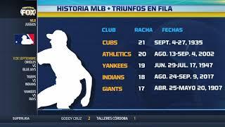 La cuarta mejor racha en la historia de la MLB