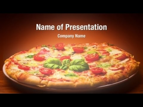 Pizza PowerPoint Video Template Backgrounds ...