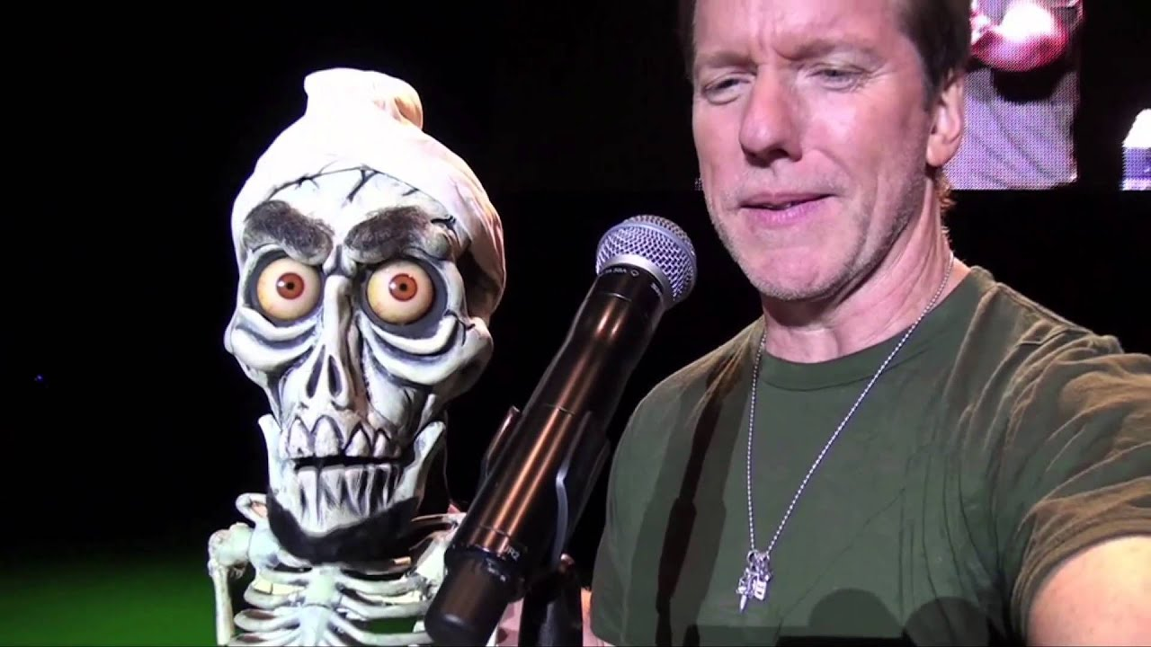 1 happy halloween from jeff dunham and achmed the dead for Achmed the dead terrorist halloween decoration