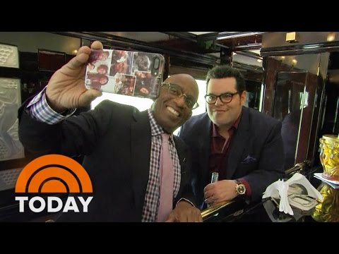 Josh Gad Takes A Ride On The Orient Express With Al Roker   TODAY