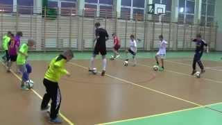 CZ3-Trening w Akademii Mistrzostwa Pilkarskiego-Gutek w akcji-elementy Coerver Coaching