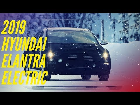 2019 Hyundai Elantra Electric_ Spy Shots