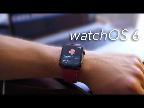 Top 6 Reasons watchOS 6 is Amazing!
