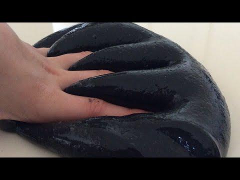🖤 TUTKALSIZ BORAKSSIZ Siyah Pofuduk Slime Yaptım! 🖤 | Efsane Güzel Oldu!! | Oyun Tanrıçası TV