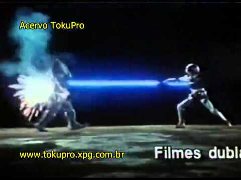 Propaganda das VHSe#39;s do Jaspion 2, Jiraiya, Maskman, Jiban, Cybercops e Black Man da Sell Thru