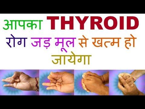 MUDRA FOR THYROID/yoga mudra for thyroid /thyroid mudra /hand mudra for thyroid