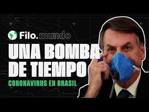 Coronavirus: ¿Cómo hizo Bolsonaro para convertir a Brasil en una bomba de tiempo? | Filo.mundo