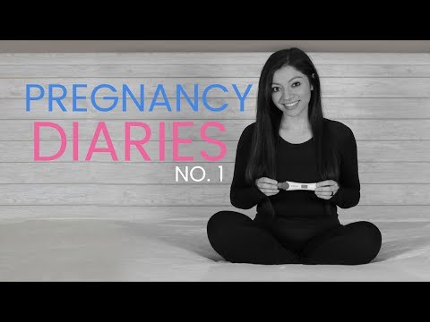 I'M PREGNANT! | Pregnancy Diaries Part 1 | MY REACTION | What's To Come
