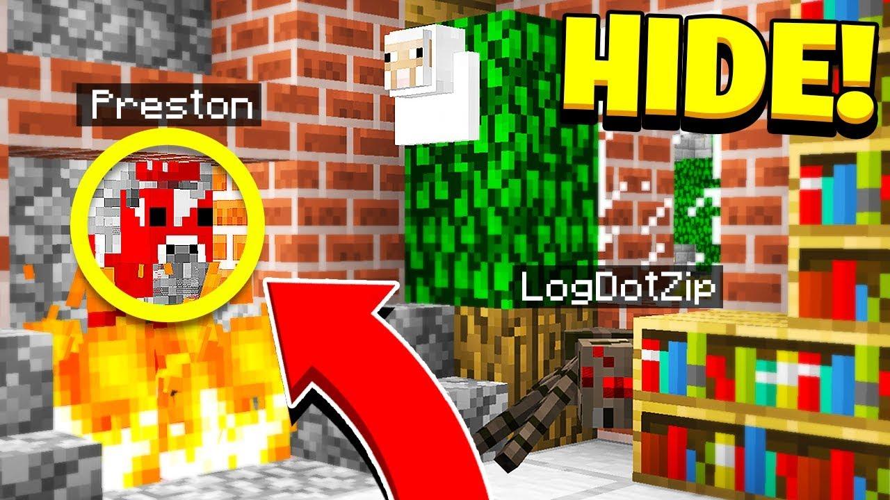 Best Hider Ever Morph Mod Hide Seek Minecraft Mods - roblox hide and seek morph