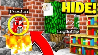 BEST HIDER EVER! - Morph Mod Hide & Seek - Minecraft Mods