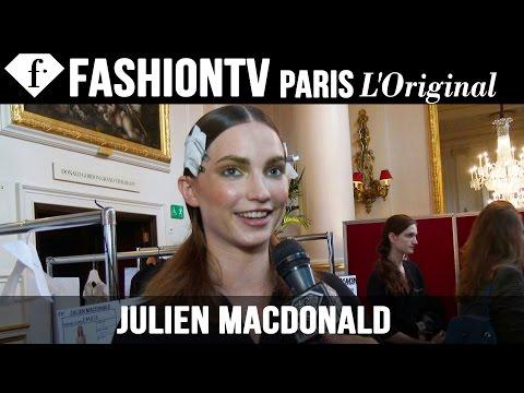 Julien Macdonald Spring/Summer 2015 Backstage | London Fashion Week LFW | FashionTV