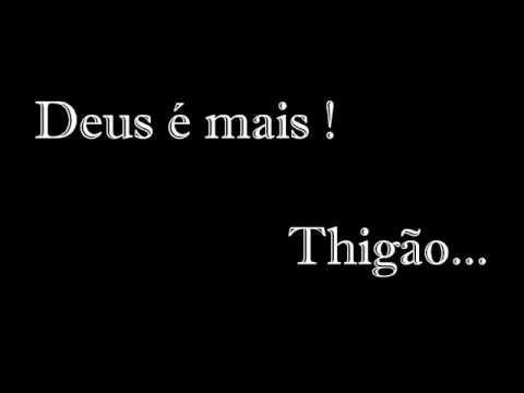 Deus é mais - Thiagão