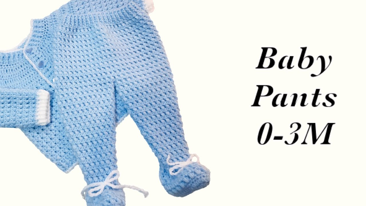 Baby Boy Set How To Crochet Newborn Bean Stitch Baby Pants With