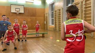 Клуб Руди Баскет | Баскетбол для самых юных | Спорт | Баскетбол