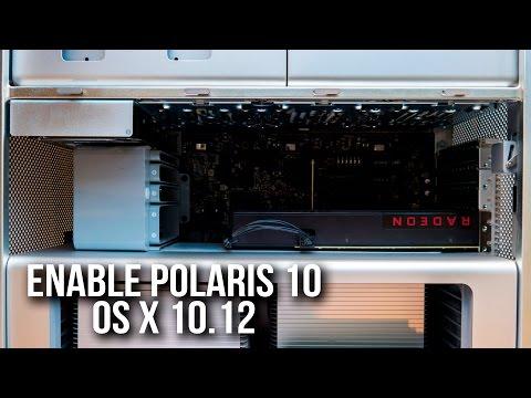 How To: RX 480 8gb in a Apple Mac Pro OS X Sierra