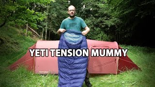 Test af Yeti Tension Mummy sovepose
