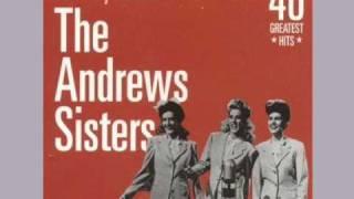 チャタヌガ・チュー・チュー The Andrews Sisters