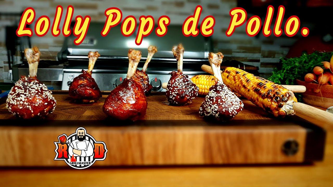 Chupa Chups de Pollo  |RDGrillmaster