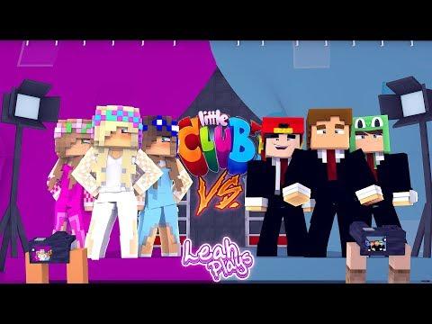 Minecraft Little Leah Plays - LITTLE CLUB GIRLS FASHION SHOW VS LITTLE CLUB BOYS FASHION SHOW!!!