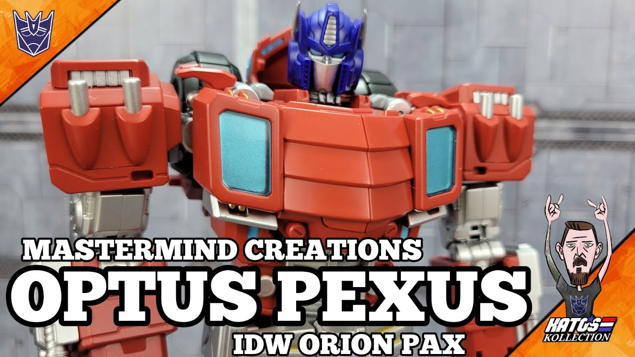 Mastermind Creations R-48 Optus Pexus Review by Kato's Kollection