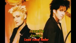 Roxette Joyride (Lead vocal fader)