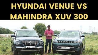 Hyundai Venue Vs Mahindra XUV 300 | Comparison | Living Cars