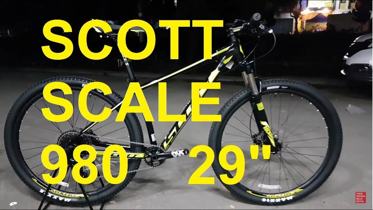 36359ec1dea Scott Scale 980 mtb 29 inch - YouTube