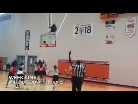 Carla Acevedo - Mills E. Godwin high school Varsity and JV  First Week