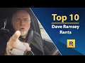 Top 🔟 - Dave Ramsey Rants